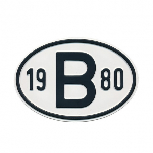 1980 B Country Plate