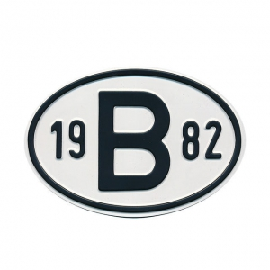 1982 B Country Plate