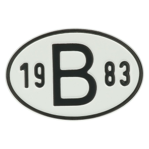 1983 B Country Plate