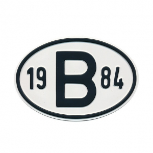 1984 B Country Plate