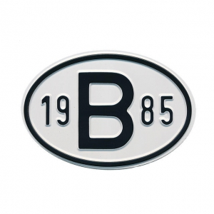 1985 B Country Plate