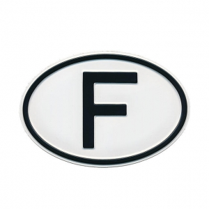 plain F Country Plate
