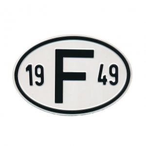 1949 F Country Plate