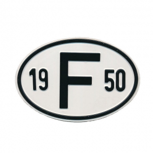 1950 F Country Plate