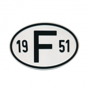 1951 F Country Plate