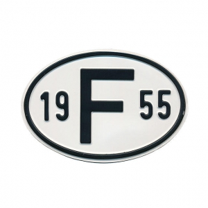1955 F Country Plate