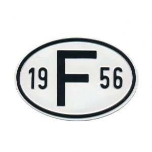 1956 F Country Plate