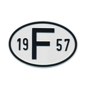 1957 F Country Plate