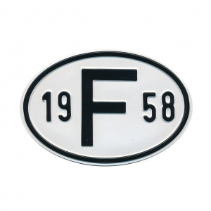 1958 F Country Plate