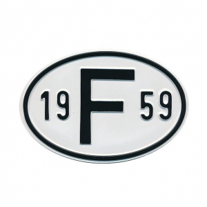 1959 F Country Plate