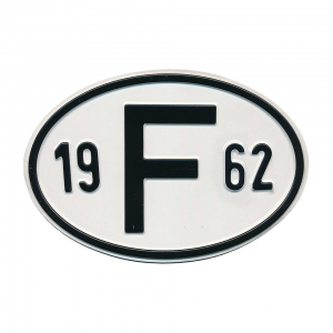 1962 F Country Plate