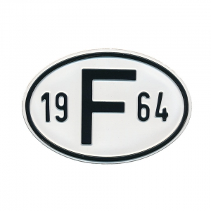 1964 F Country Plate
