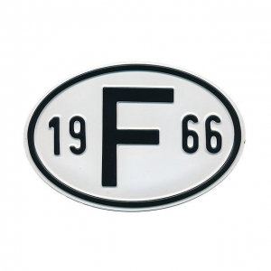 1966 F Country Plate