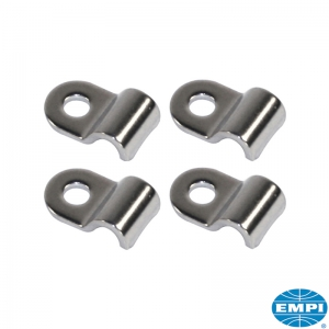 Stainless Steel Hard Brake Line Clamp Set