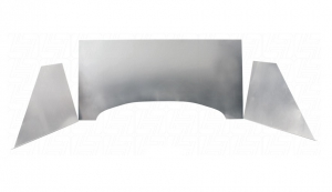 Beetle Plain Stainless Steel Firewall