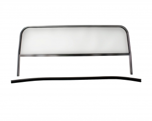 Buggy Windscreen - 325mm Tall (Frame Height 510mm) X 1080mm Wide