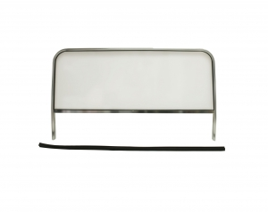 Buggy Windscreen - 425mm Tall (Frame Height 610mm) x 1080mm Wide