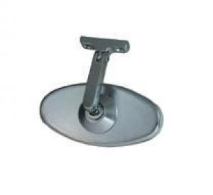 Billet Aluminium Oval Interior Mirror - Screw On Style
