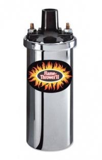 Chrome Flamethrower 2 Coil - 12 Volt