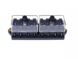 Universal 8 Pole Fuse Box - For Blade Style Fuses