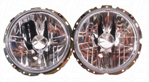 Beetle 1 Screw Clear Headlights - 1974-79 (Also Baywindow Bus)