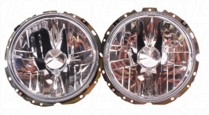 Beetle 1 Screw Clear Headlights - 1974-79 (European Models Only Not For UK Roads) (Also Baywindow Bus)