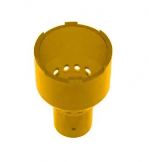Yellow Buggy Whip Bulb Cover