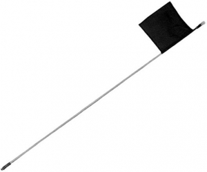 **NCA** 5 Foot Long Buggy Whip Aerial Pole