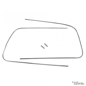 Beetle Cabriolet Front Windscreen Deluxe Moulding - 1950-57