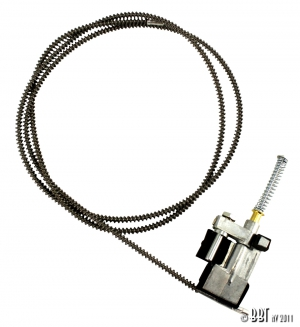 Beetle Sunroof Cable (Not 1303 Models) - Left - 1963-79
