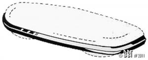 Karmann Ghia Number Plate Light Moulding