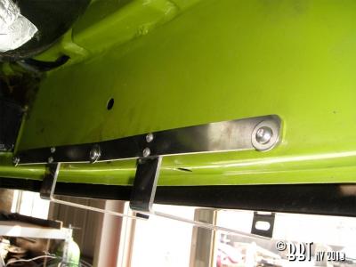 Vintage Speed Splitscreen Bus Front Number Plate Bracket