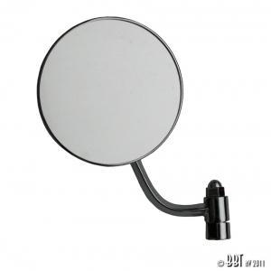 Beetle Round Hinge Pin Mirror - Left