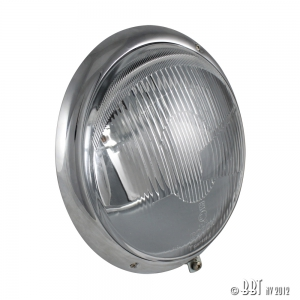 Beetle Headlight (UK Beam Pattern) - 1950-67 - Top Quality