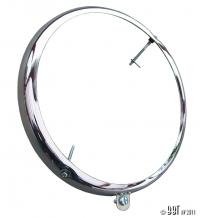 Beetle Headlight Rim (10 Past 8 Screws) - 1950-67 - (Also Splitscreen Bus)