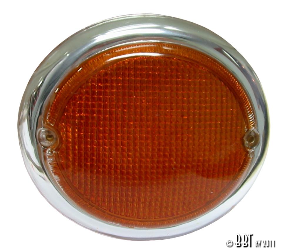 Splitscreen Bus Fish Eye Indicator Lens - Left - 1963-67