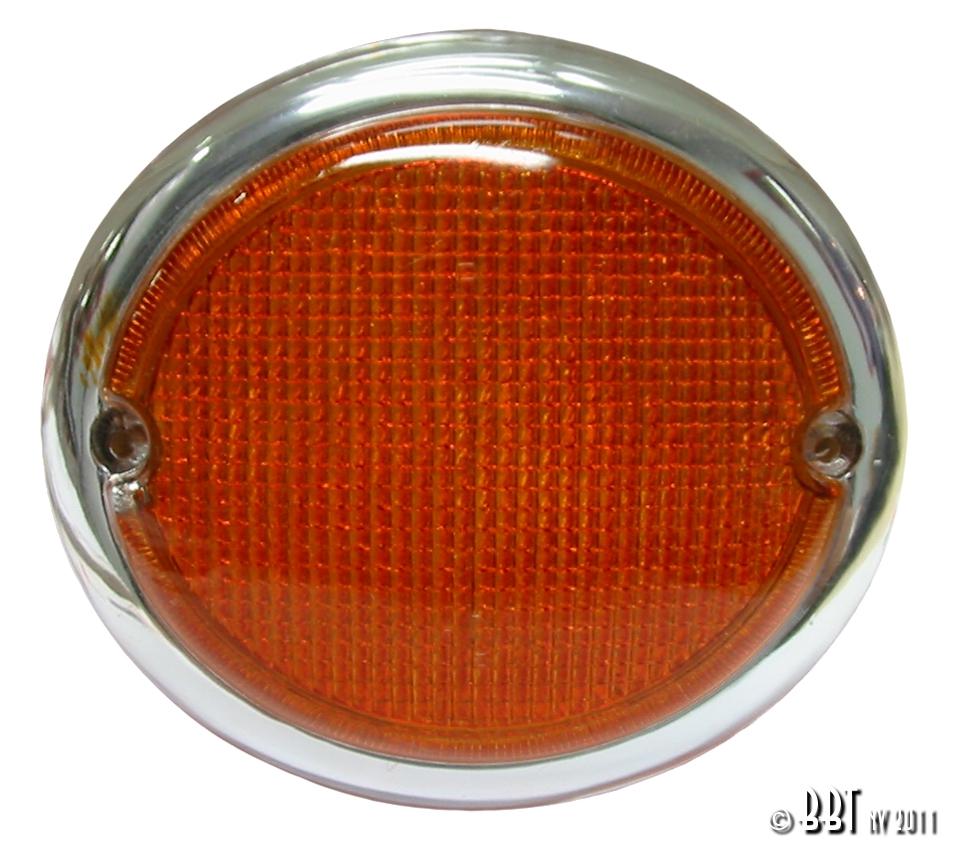 Splitscreen Bus Fish Eye Indicator Lens - Right - 1963-67