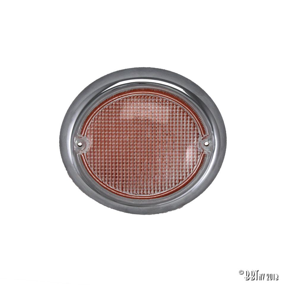 Splitscreen Bus Fish Eye Indicator Lens - Left - 1963-67 - Top Quality