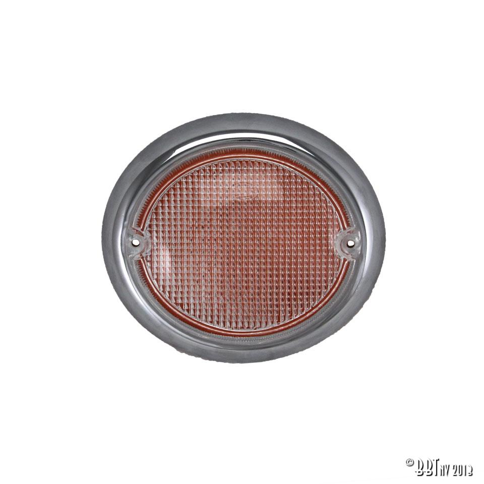 Splitscreen Bus Fish Eye Indicator Lens - Right - 1963-67 - Top Quality