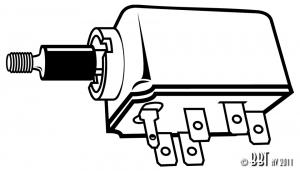 Headlight Switch - T1, KG, T3, T181 - 1968-70
