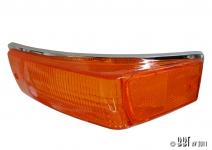 Karmann Ghia Amber Indicator Lens - 1970-74 - Left