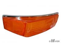 Karmann Ghia Amber Indicator Lens - 1970-74 - Right