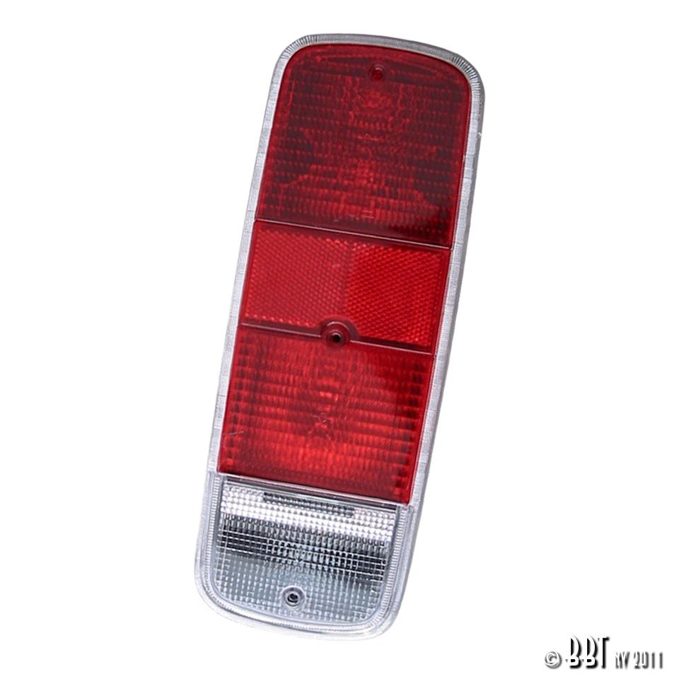 Baywindow Bus Red Tail Light Lens - 1972-79