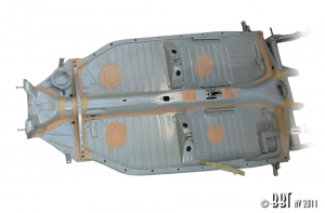 **NCA** Beetle Complete Chassis - 1972-79 Swing Axle