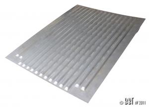 Splitscreen Single Cab Pickup Load Bed Front Half Ribbed Floor (1168mm X 889mm)