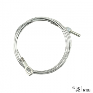 Beetle Clutch Cable (2255mm) - 1961 Only (Also Karmann Ghia)
