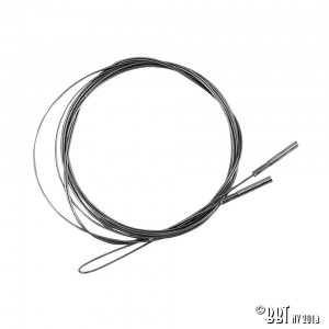 **ON SALE** Beetle Heater Cable (3665mm) - 1963-64 (Also Karmann Ghia Heater Cable)