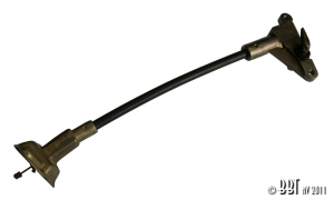 Beetle Fuel Flap Cable - 1969-70