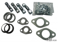 Type 1 Exhaust Fitting Kit (Twin Tailpipes) - 25HP And 30HP Type 1 Engines