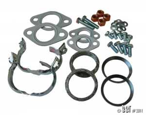 Baywindow Bus Exhaust Fitting Kit - Type 1 Engines